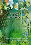 Construction and the environment - CIP Books