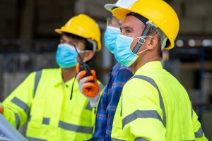 new guidance on face coverings in construction