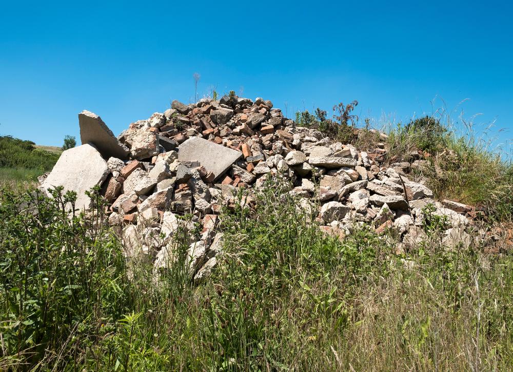 site waste disposal